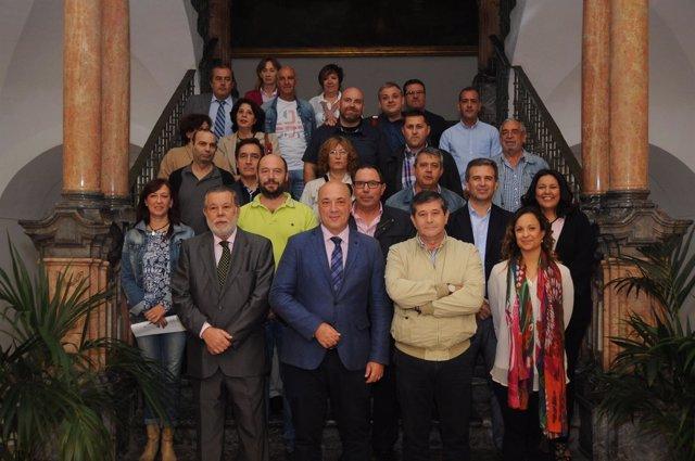 Firma de convenio con el personal funcionario de la Diputación de Córdoba