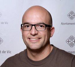 Joan Coma, concejal de la CUP en Vic