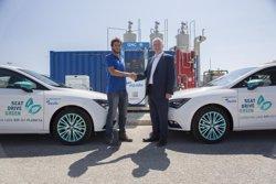 Seat i Aqualia fan el primer combustible alternatiu espanyol procedent d'aigües residuals (SEAT)