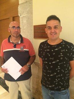 El senador de Compromís Carles Mulet presenta una moción en el Senado