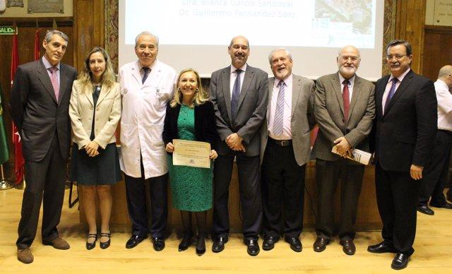 La doctora Carmen Ayuso recibe el Premio de Investigación anual de la Fundación
