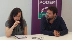 Fachin (Podem) creu que la decisió dels socialistes demostra que PP i PSOE són