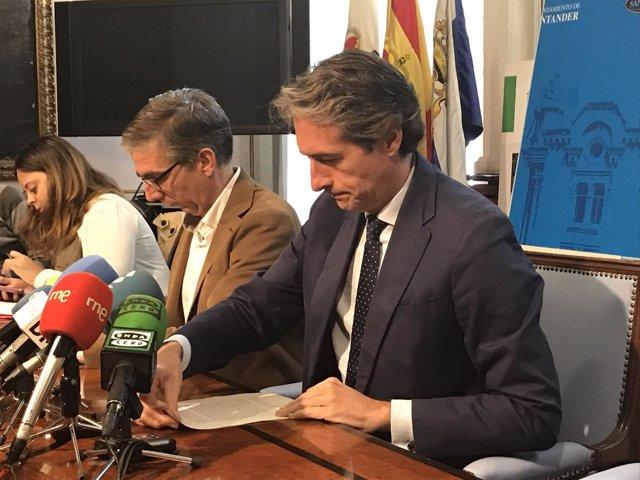 Rueda de prensa del alcalde sobre posible nulidad del PGOU