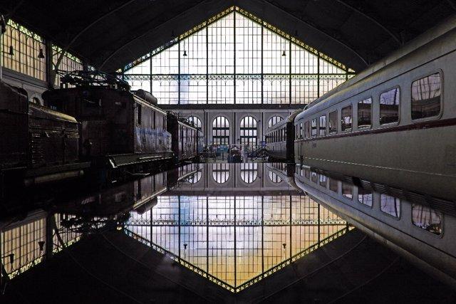 Dia de puertas abiertas en el Museo del Ferrocarril
