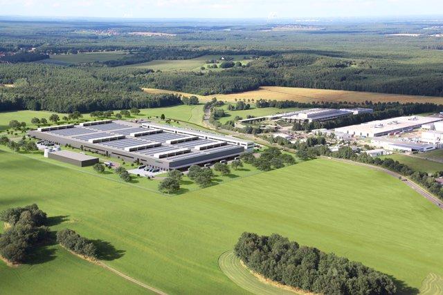 Fábrica de Daimler en Kamenz (Alemania)