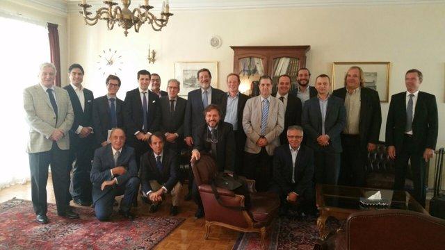 Participantes en la misión comercial a Irán