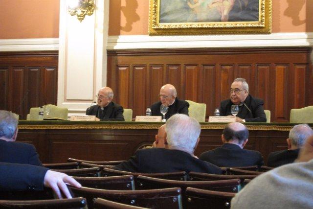 El cardenal Ricardo Blázquez en unas jornadas de reflexión sobre Anoris Laetitia