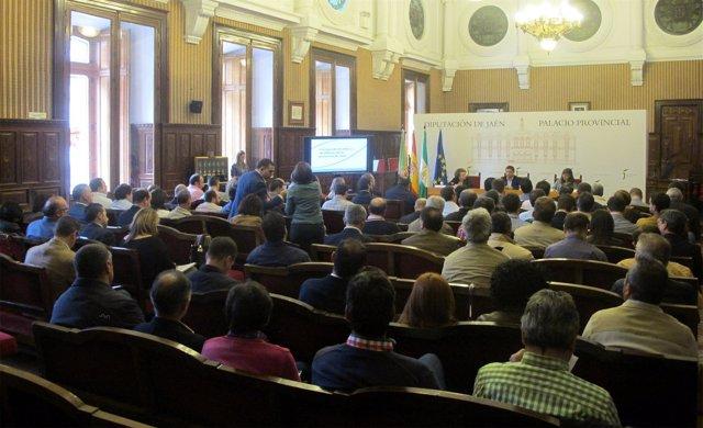 Celebración del Consejo de Alcaldes y Alcaldesas de la Diputación de Jaén.