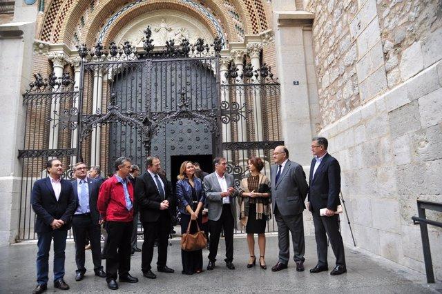 La catedral de Teruel, el centro de la ciudad