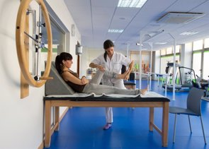 Hasta un 75% de los pacientes con daño cerebral puede volver a caminar (EUROPA PRESS/HOSPITAL XANIT)