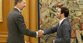 Garzón avisa al Rey de protestas contra el Gobierno Rajoy y su guardia...