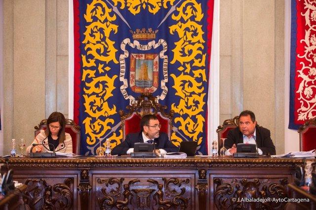 Imagen del Pleno ordinario