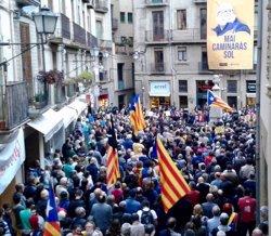 Puigdemont dóna suport a a Coma (CUP) i critica la judicialització d'opinions (@CUPNACIONAL)