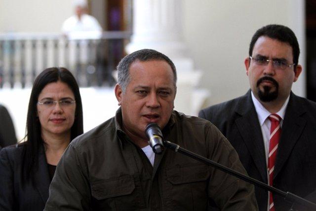 El vicepresidente del PSUV y diputado y de la AN, Diosdado Cabello