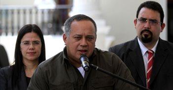 """Cabello dice que el Gobierno estará en el diálogo, pero recalca que """"no..."""