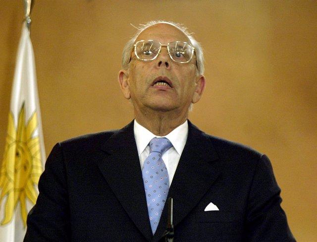 El expresidente de Uruguay Jorge Batlle