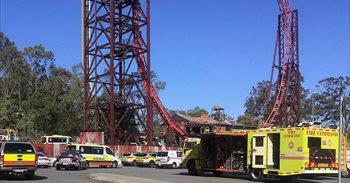 Al menos cuatro muertos en un accidente en un parque de atracciones en el...