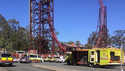 Al menos cuatro muertos en un accidente en un parque de atracciones en el este de Australia