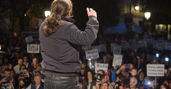 Pablo Iglesias saludará a los manifestantes que protestarán contra la...