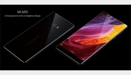 Mi Mix, el nuevo concepto de teléfono de Xiaomi con 6,4'' y un ratio de pantalla del 91%