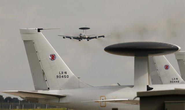 Aviones AWAC de la OTAN