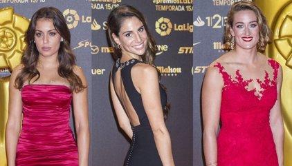 Hiba Abouk y Lucía Villalón le roban el protagonismo a los futbolistas en los Premios LaLiga