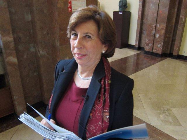 La concejal del PP Zaragoza Reyes Campillo.