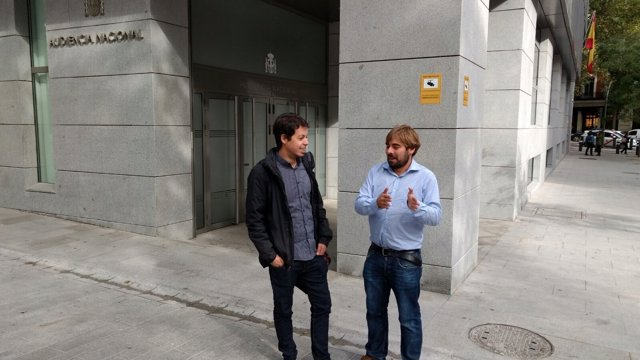Daniel Ripac y Segundo González Podemos