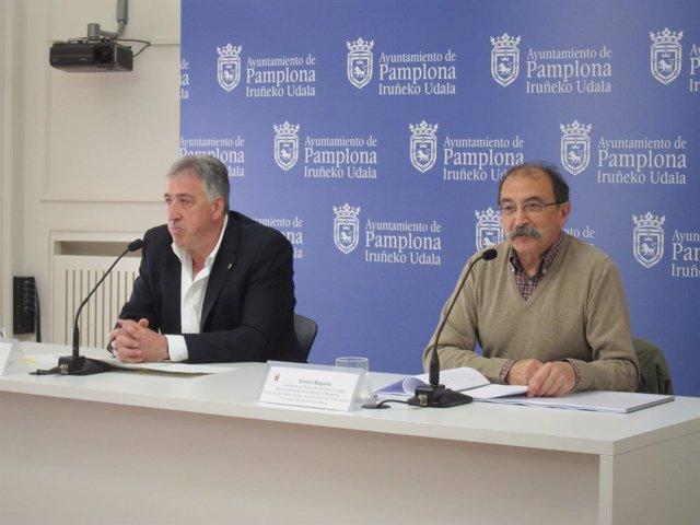 Joseba Asiron y Emilio Majuelo.