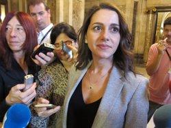 Arrimadas (C's) demana que Forcadell deixi la presidència del Parlament (EUROPA PRESS)