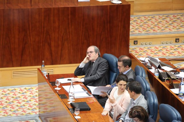 Ángel Gabilondo en la Asamblea de Madrid