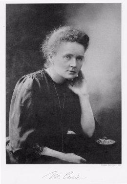 Foto de Marie Curie