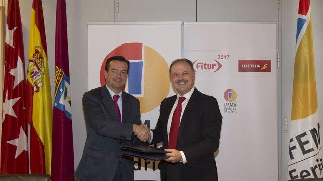 Iberia e Ifema renuevan su acuerdo de colaboración