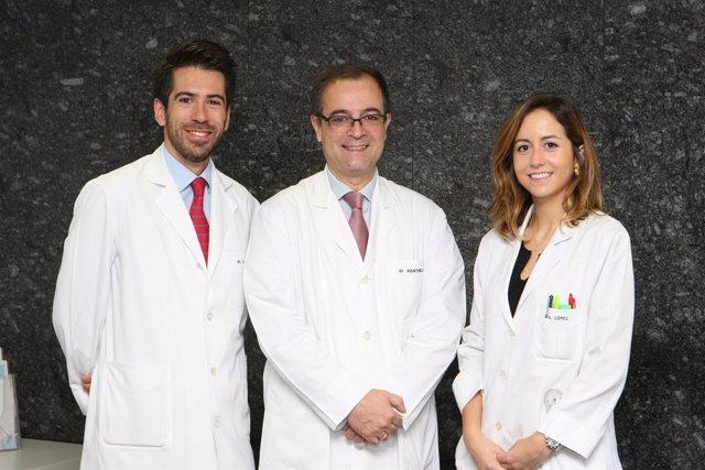 Álvaro Cabello, Bernardo Hontanilla y Cristina Gómez Martínez de Lece
