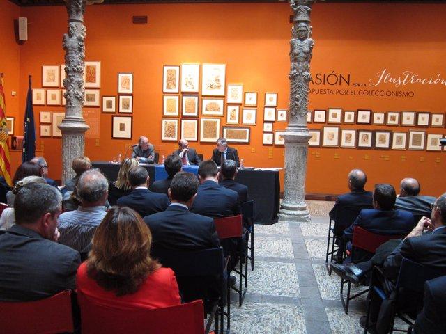 Funcas ha presentado sus previsiones económicas para las CCAA hoy en Zaragoza