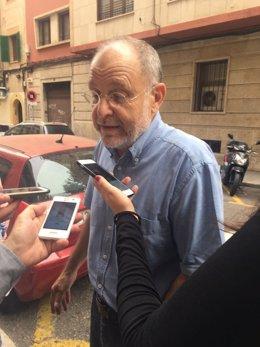 El exalcalde de Palma Ramón Aguiló