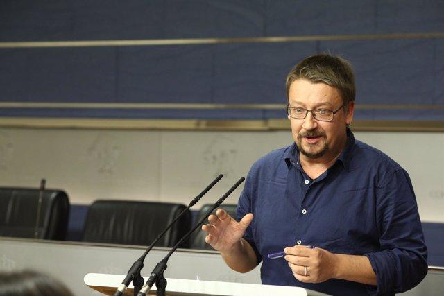 Xavier Domenech en el Congreso