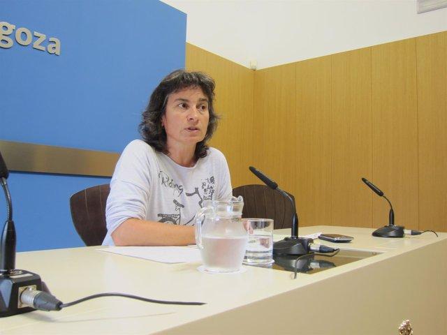 La vicealcaldesa de Zaragoza, Luisa Broto.