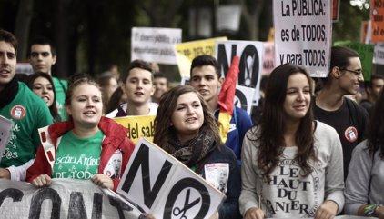 Huelga de estudiantes del 26 de octubre de 2016: dónde y cuándo son las manifestaciones y recorrido en Madrid