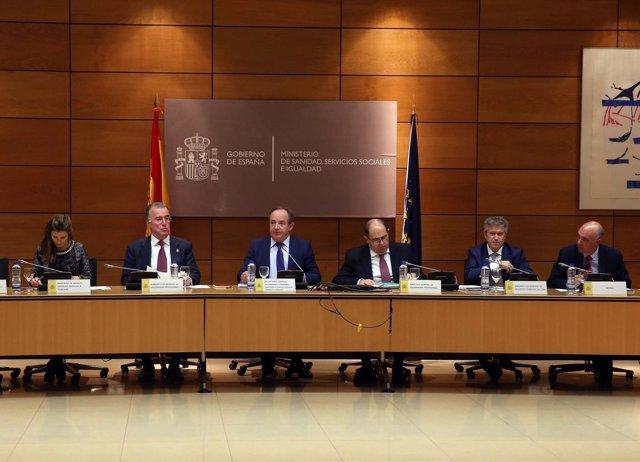 Comisión recursos humanos ministerio de sanidad