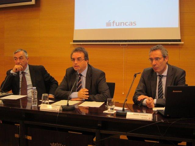 Acto de presentación del informe de FUNCAS de previsiones para las regiones.