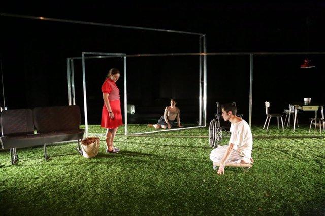 Obra teatro 'La Distancia' de Pablo Messiez