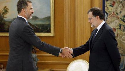 Rajoy anuncia que ha aceptado el encargo del Rey de someterse a una nueva investidura