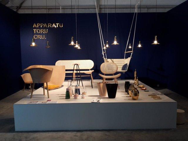 Exposición de productos de empresas catalanas en la Dubai Design Week