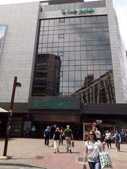 El Corte Inglés es el centro comercial beneficiado por la ZGAT en Maisonnave