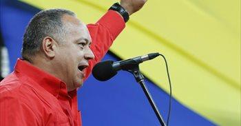 Venezuela.- Cabello reprocha a la MUD que parte de la oposición no quiera...