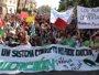 Concentraciones en las capitales andaluzas en apoyo a la huelga educativa