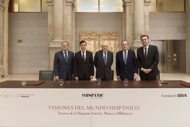 Convenio El Prado, Fundación BBVA e Hispanic Society