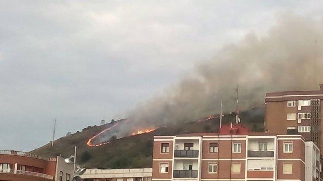 Incendio en Artxanda, Bilbao