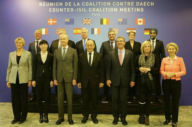 Reunión de ministros de la coalición contra el Estado Islámico